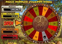 Mega Moolah Bonus Feature