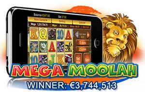 Mega Moolah Mobile Winner