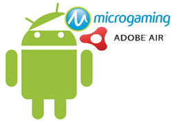 Microgaming Android Air Application