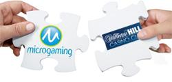 Microgaming and William Hill Casino Partnership