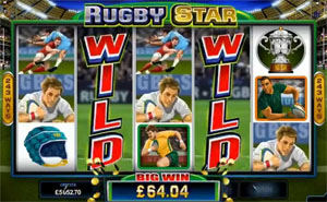 Rugby Star Stacked Wilds