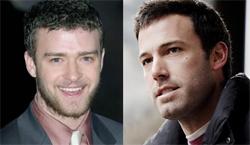 Justin Timberlake and Ben Affleck