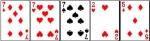 Three of a Kind Hand Ranking