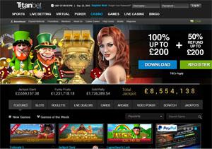 Titan Bet Online Casino
