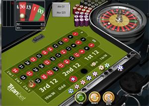 Titan Bet Casino Roulette