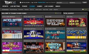 Titan Bet Video Poker