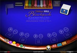 William Hill Casino Club blackjack