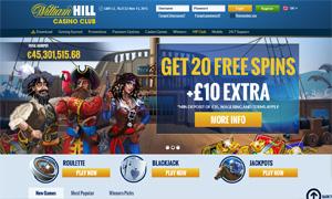 William Hill Casino Club Slots