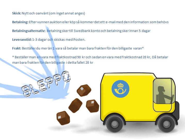 betalnings info