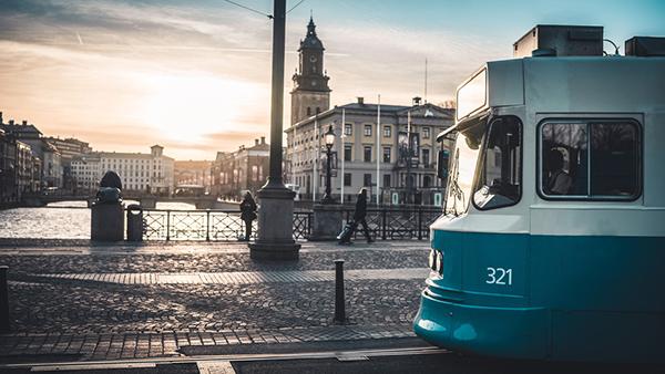 spårvagn i Göteborg