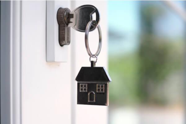 Hus nyckelring
