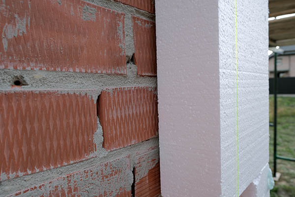 isolering av vägg