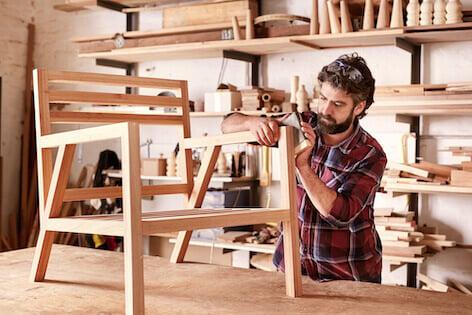 egensnickrad möbel