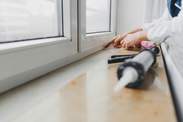Att laga fönster