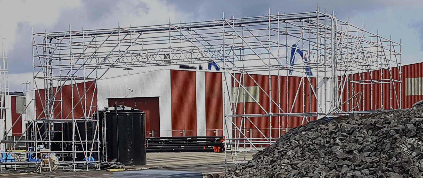 Byggställning i Kalmar län