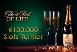 100,000 Euro Slots Turnier