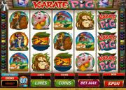 Karate Pig spielautomat