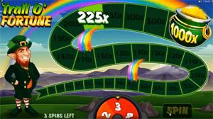 Bonusrunde im Slot Lucky Leprechaun