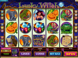 Lucky Witch Spielautomat