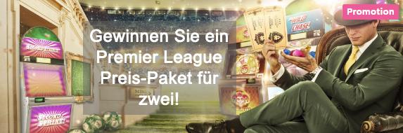 Mr Green Premier League Aktionen