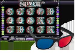 Sterling Silver 3D Spielautomaten
