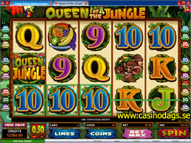 Queen of the Jungle Slotmaskin