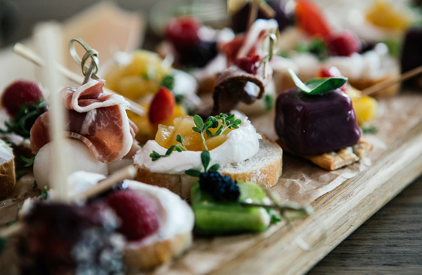 catering canapéer