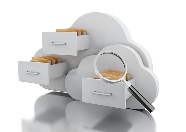 förvaring i molnet