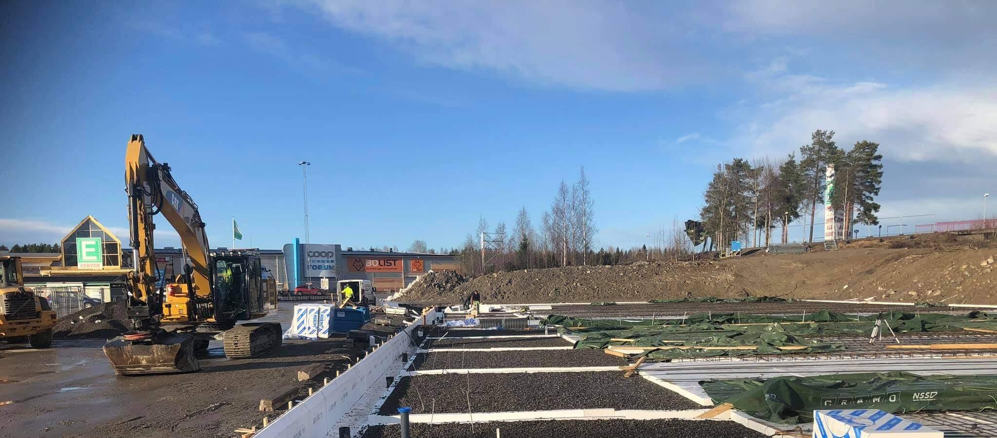 Vi arbetar med dränering i Gävleborg