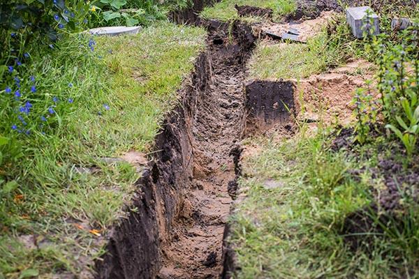 dikesgrävning