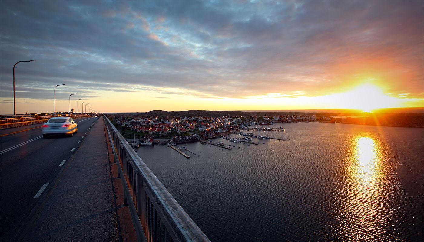 Västkusten, den vackraste platsen i Sverige. Platsen vi finns på och verkar som elektriker i Göteborg.