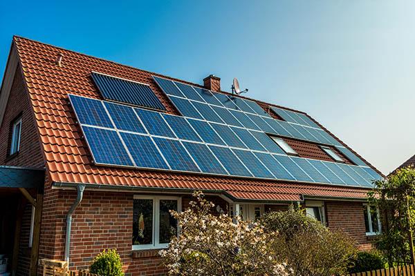 smart hus med solceller