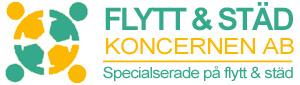 Flyttfirma Eskilstunas logotyp