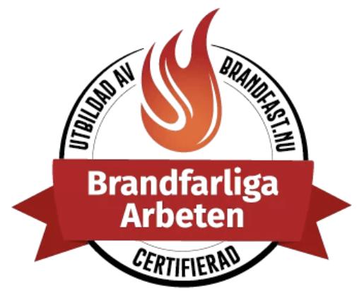 Certifierade för arbete med brandrisk inom fastighetsförvaltning i Göteborg.