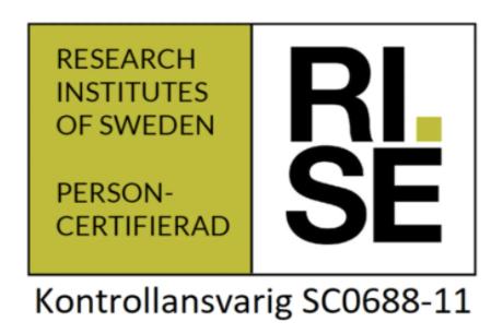 Certifierade av rise som KA inom fastighetsförvaltning i Göteborg.