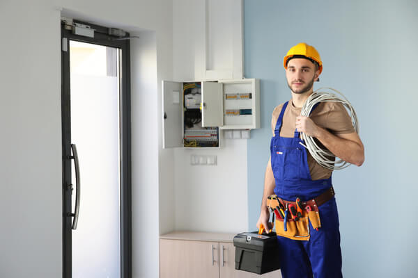 elektriker löst problemet