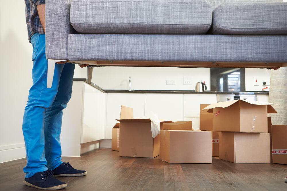 flytta til ny bostad