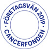 Vi stödjer Cancerfonden