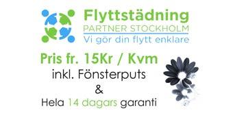Flyttstädning Drottningholm footer