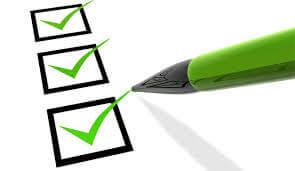 Checklista för flyttstäd