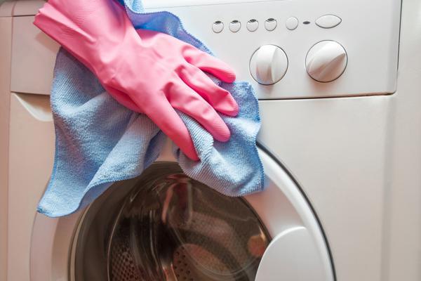 Rengöring av tvättmaskin
