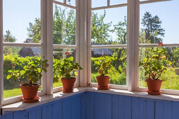 nyputsade fönster i Dalarna