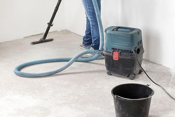 städning efter renovering i Dalarna