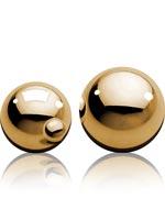Ben Wa Balls i guld