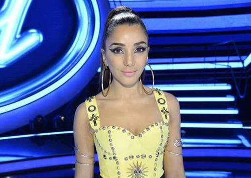 Gina som programledare för idol
