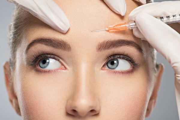 botox behandling pågår