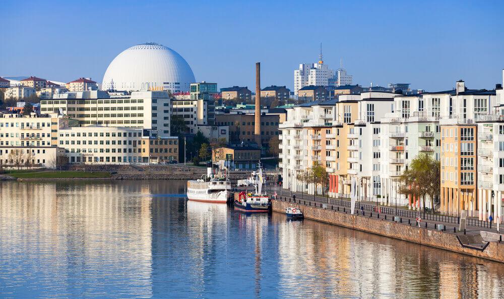 stockholm södermalm globen