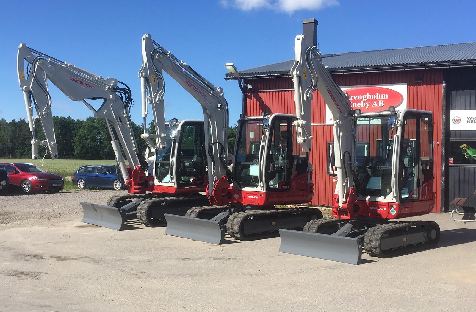 Vi är återförsäljare av olika märken för att kunna erbjuda våra kunder rätt grävmaskin i Södermanland. Så kontakta oss för grävmaskin Södermanland.