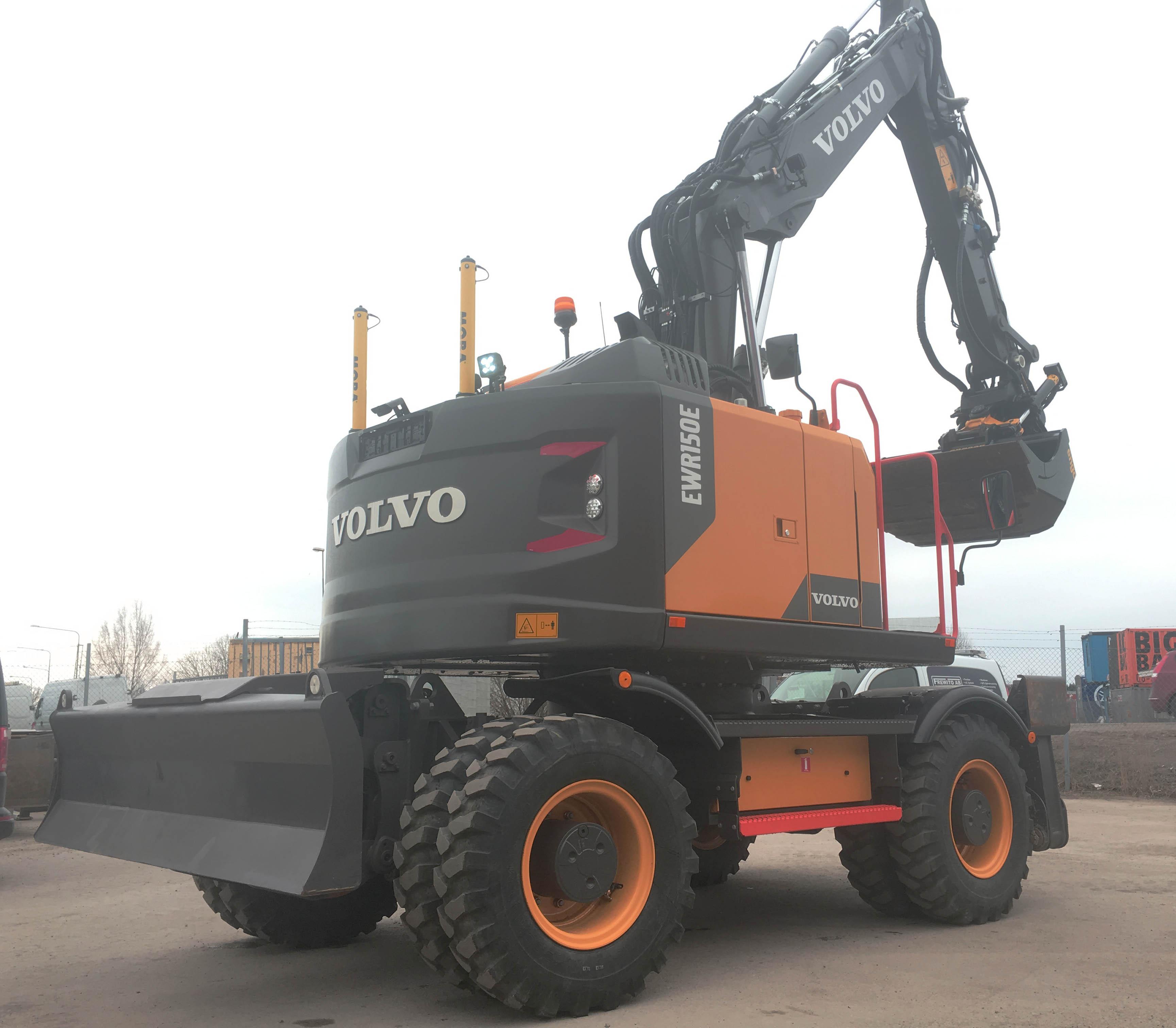Vi hyr ut Volvo grävmaskin i Stockholm