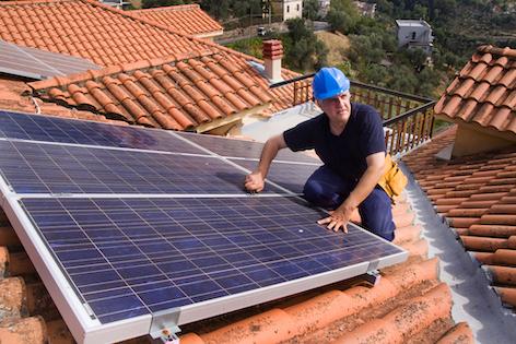 elektriker kan behöva lägga solpaneler